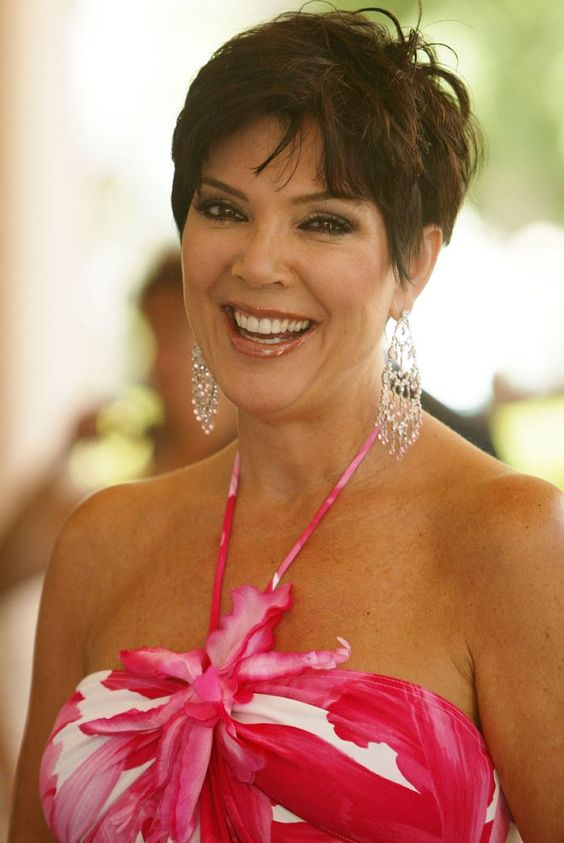kris jenner pixie hair that makes you look younger
