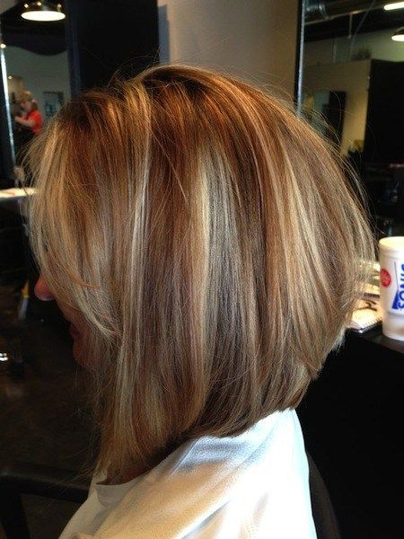 Perfect Highlights Bob For Over 40 Women Short