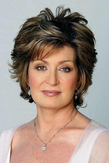 older women trendy short haircut style