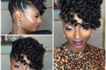 The Best Short Curly Hairstyles for Black Women with Natural Hair natural_updos_hairstyle_1-150x100
