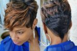 Beautiful Short Hairstyle For African American Women