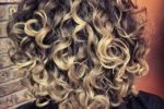 Highlighted Curly Hair Women 7