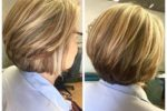 Beautiful Hairstyle For Older Women Short Stacked Bob