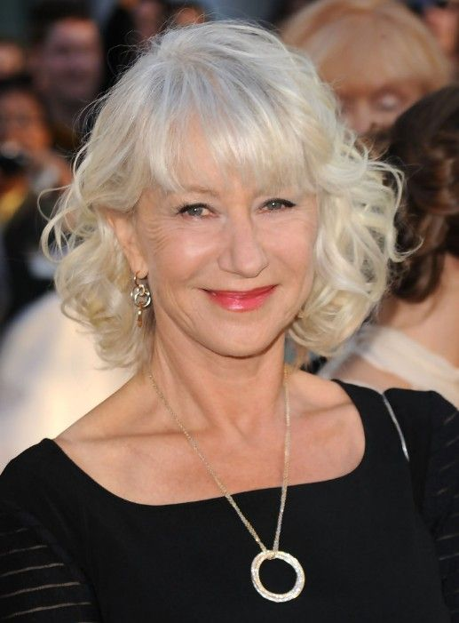 beautiful hairstyles with bangs for women over 50
