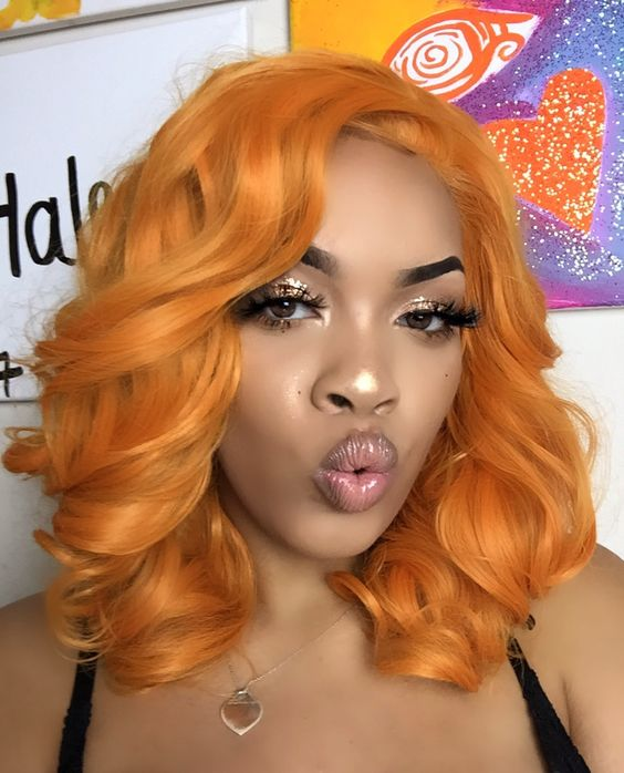 beautiful-wavy-bob-hairstyle-for-black-women beautiful-wavy-bob-hairstyle-for-black-women-1