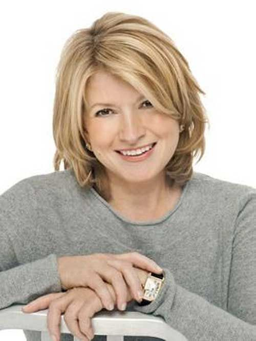 45 Short Hairstyles for Women Over 50 for Fresh and Fashionable Look delicately-layared-bobs-for-over-50