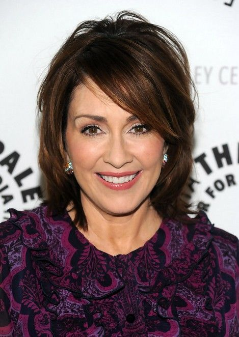 pretty layered bob hairstyles for women over 50