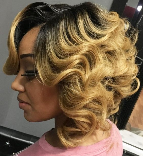 updated bob short hairstyles for black women