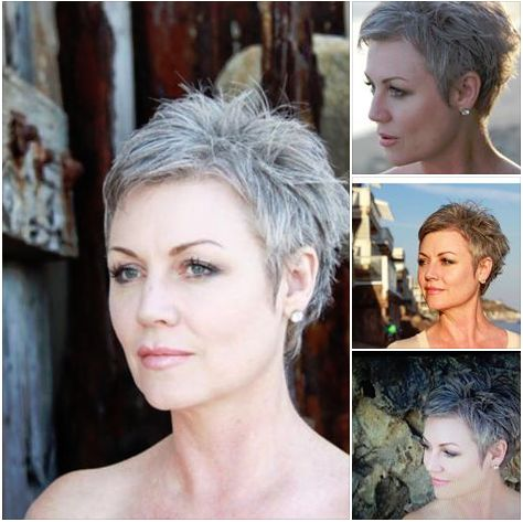 48 Short Hairstyles for Older Women to Look Fresh very-short-pixie-hairstyle-for-older-women