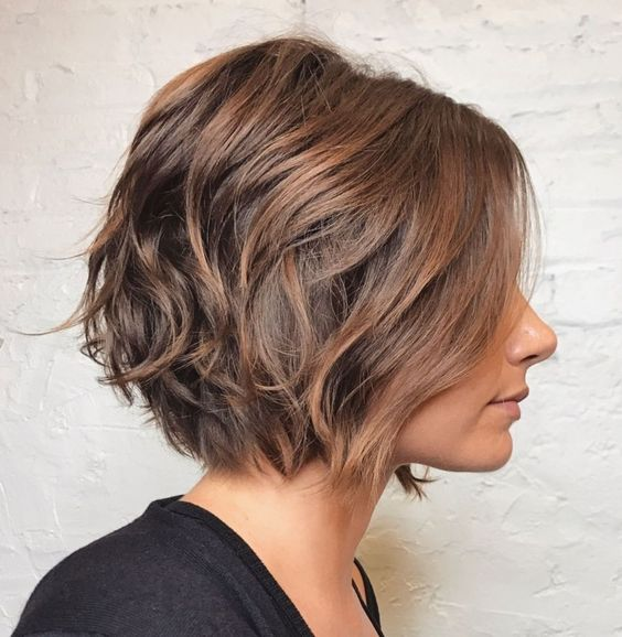 short textured bob hairstyle that makes you look cute