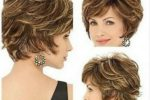 Trendy Curly Shaggy Haircut With Bangs That Will Look Awesome With Older Women