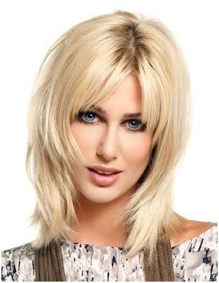 beautiful layered pageboy hairstyle for women