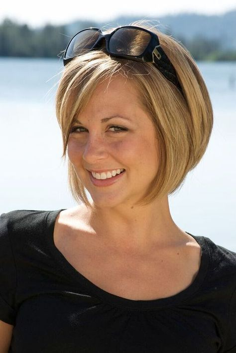 cute looking bob hairstyle for women