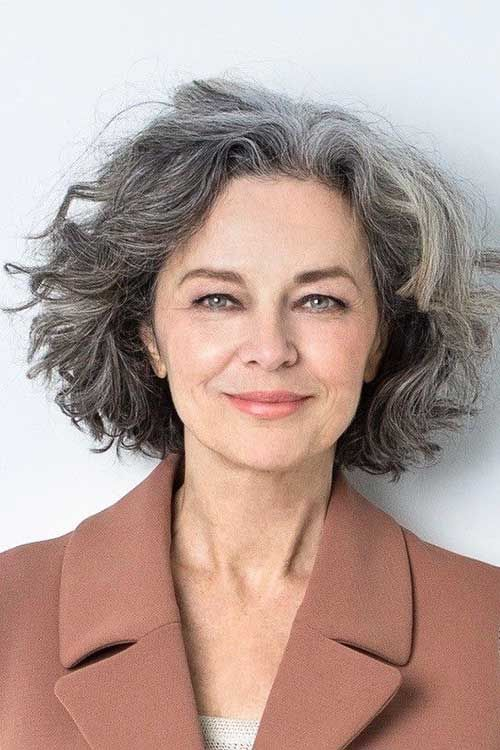 54 Awesome Short Curly Hairstyles for Women over 50 cute-wavy-curly-haircut-ideas-that-older-women-can-try