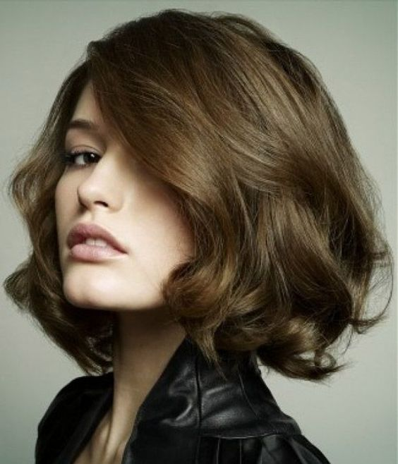 gorgeous looking bob hairstyle with bing volume hair