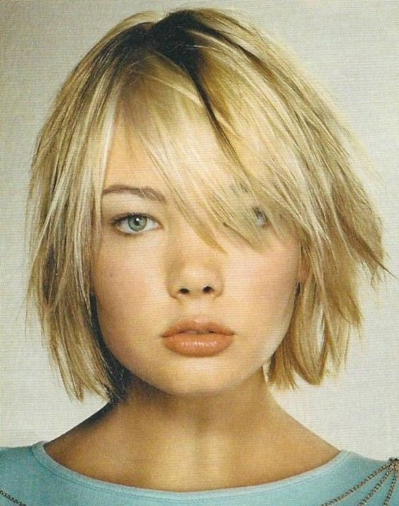 layered pageboy haircut for women who loves boyish look