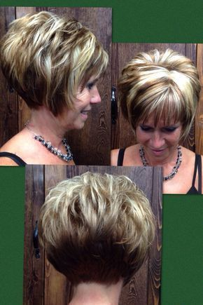 trendy choppy haircut that perfect for older women with thick hair
