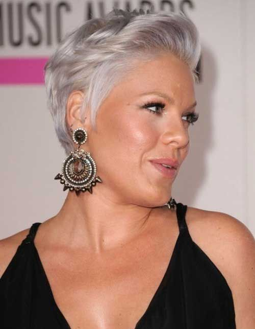 54 Short Choppy Hairstyles for Women over 60 to Look Younger undershaved-pixie-cut-that-makes-you-look-younger