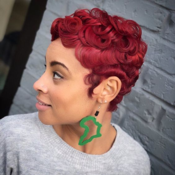 45 Finger Waves Hairstyles for Short Black Hair to Spice up the Strict Style for Your Hair 0bee23b97b9ca66d41824ad76de5b5a3