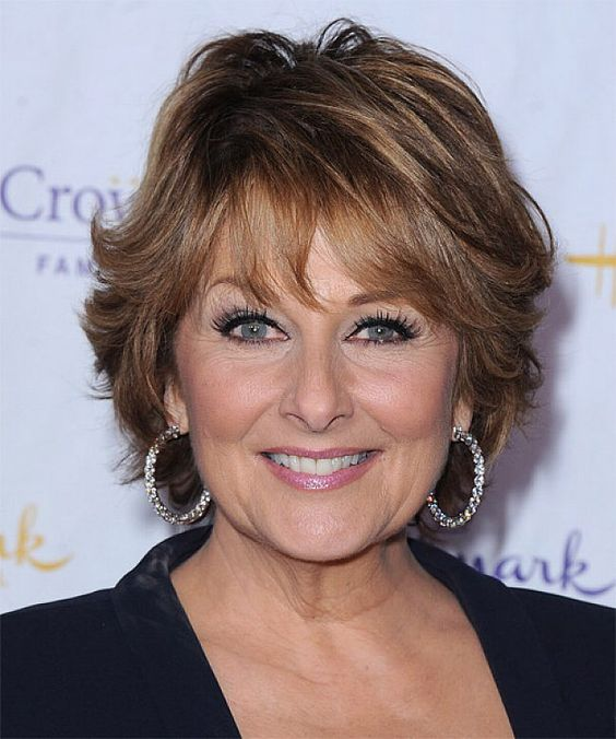 45 Short Shag Haircuts for Women Over 50 for Stylishness with Youthful Appearance 160bf5843e48eaf4843b0960a168b80d
