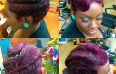 45 Finger Waves Hairstyles for Short Black Hair to Spice up the Strict Style for Your Hair 227c58c607d2016e30b9f5e8e85a15f1-235x150