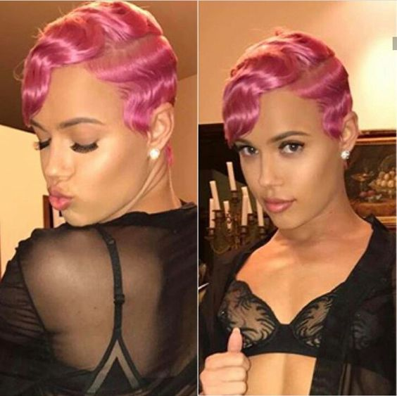 45 Finger Waves Hairstyles for Short Black Hair to Spice up the Strict Style for Your Hair 2e327c23228705da4ba113d5d0fde48d