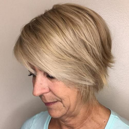 45 Wedge Haircuts for Women Over 50 for Those into Simple and Classic Appearance 3779ec7fe582ffd89afcaeb608d55a4e