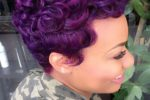 Finger Wave Style With Short Curls 2