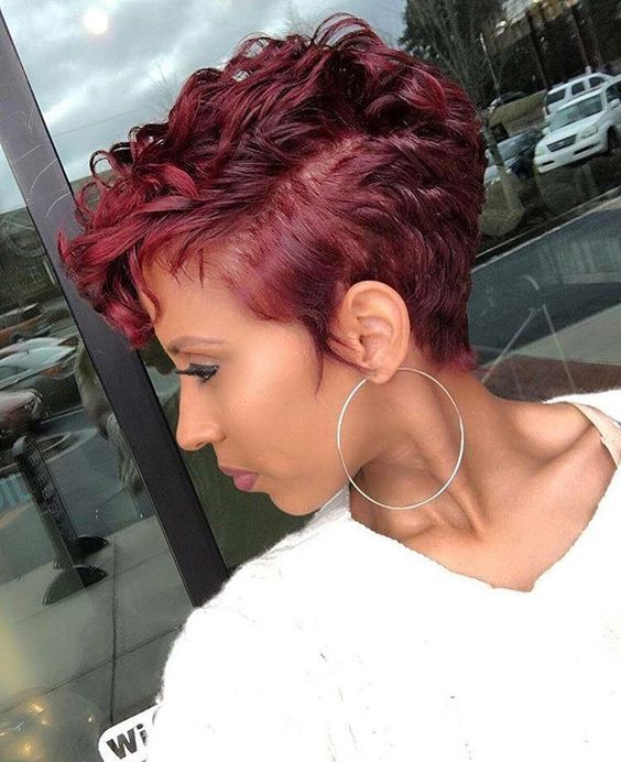 45 Finger Waves Hairstyles for Short Black Hair to Spice up the Strict Style for Your Hair b2d203f8085f140ee2af374f27f66e62