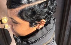 45 Finger Waves Hairstyles for Short Black Hair to Spice up the Strict Style for Your Hair c435fca13050a9423851afdbb6e47070-235x150
