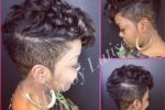 Modern, Finger Wave Mohawk Cut 4