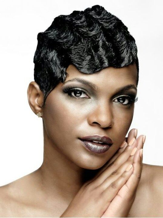 Cute, Finger Wave Prom Style of Hair 5