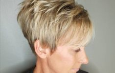 45 Short Hairstyles for Grey Hair and Glasses that Make Older Women Still Looking Stylish voluminous_pixie_cut_for_the_aged_women_5-235x150