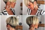 White Blonde Basin Cut And Shaved Details 1