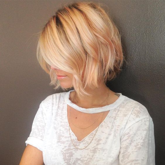 Voluminous Bright Blonde Style 1