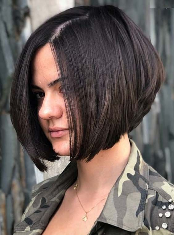 40 Stacked Hairstyles for Short Thick Hair Round Faces to Flatter Your Look Even More