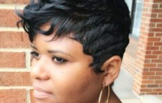 40 Short Haircuts for Older African American Women to Look Graceful and Beautiful 18eb3f5f16bb70f0e2800297a5f80341-235x150