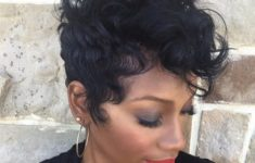 10 Prettiest Pixie Haircuts for Women over 60 2-short-black-hairstyle-for-curly-hair-235x150