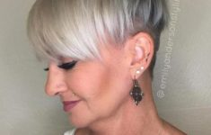 10 Prettiest Pixie Haircuts for Women over 60 3-gray-pixie-undercut-for-mature-women-235x150