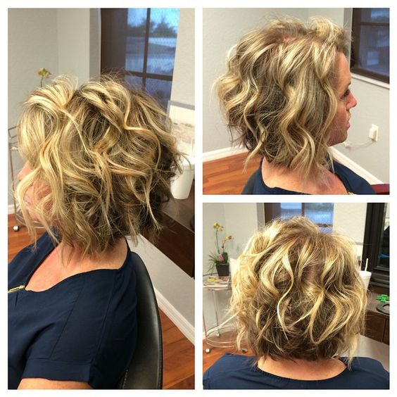 Curly Blonde Crop Stacked Haircut 3 368d0e7a1aa53d9f64cbec50076848e5