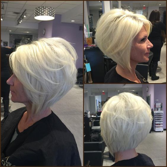 50 Top Short Sassy Haircuts for Women over 50 436f24d2897aa44f1e32df9ff6532573