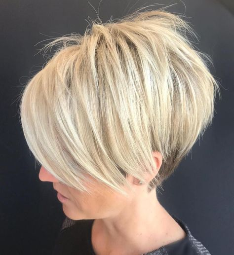 Medium-Blonde with Sassy Spiky Tips 3