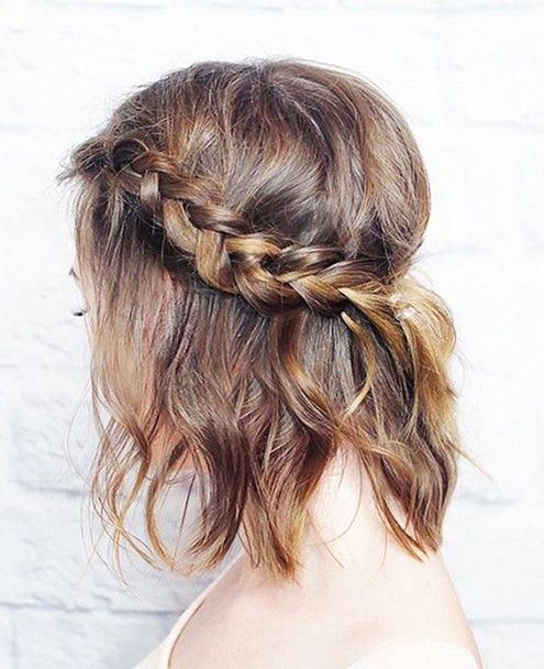Classic Pinned Style with Braids 3