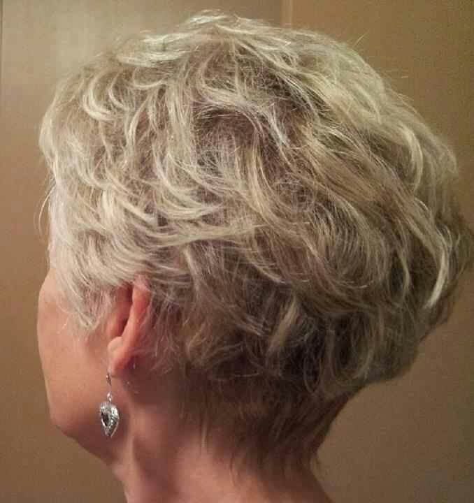 Short Curly Wedge 1