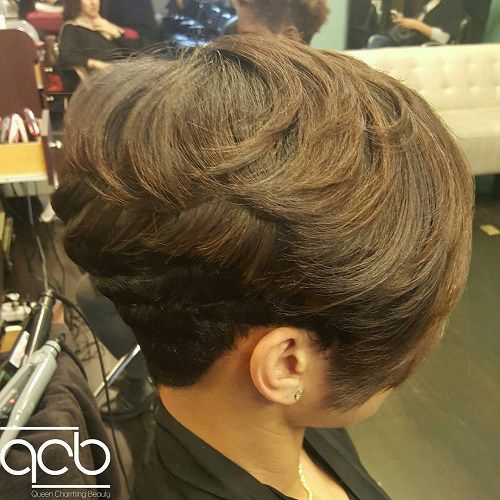 Soft Wedge Hairstyle 2