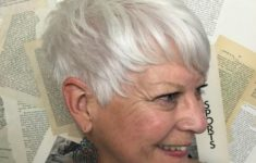 10 Prettiest Pixie Haircuts for Women over 60 8-older-womens-silver-pixie-hairstyle-235x150