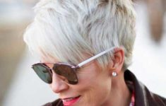 10 Prettiest Pixie Haircuts for Women over 60 Short-Haircut-for-Older-Women-235x150