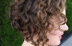 50 Most Favorite Short Wedge Haircuts For Women Over 40 curly-inverted-bob-235x150
