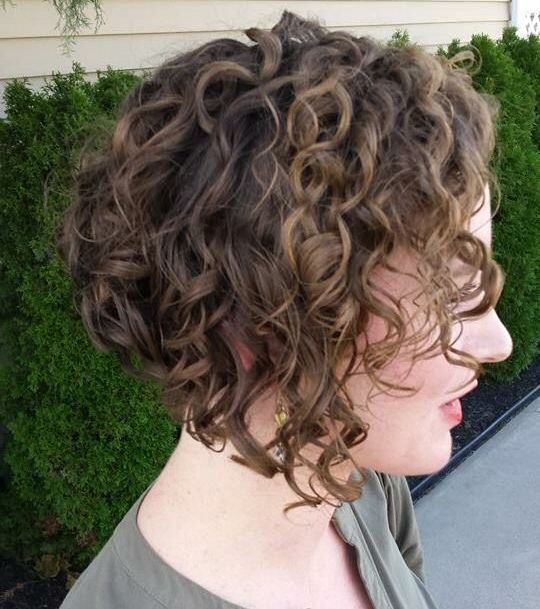 Short Curly Wedge 2