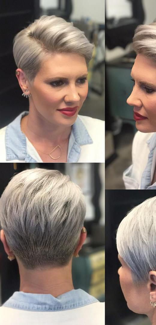 Smooth Texture on Silver-Gray Elegance 5